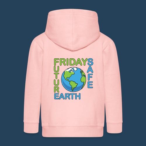 Safe Our Earth - Kinder Premium Kapuzenjacke