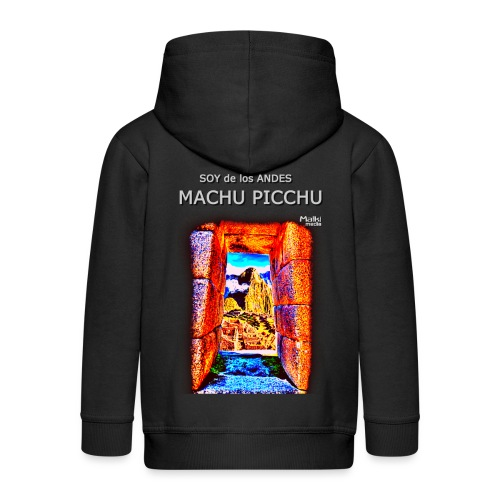 SOJA de los ANDES - Machu Picchu I. - Kinder Premium Kapuzenjacke