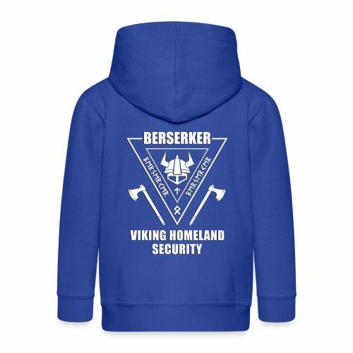 berserker viking homeland security - Chaqueta con capucha premium niño