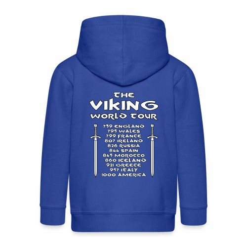 Viking world tour - Chaqueta con capucha premium niño