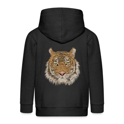 Tiger - Kinder Premium Kapuzenjacke