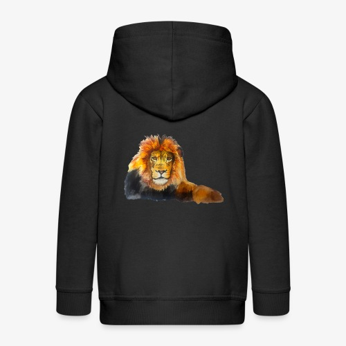 Lion - Kids' Premium Zip Hoodie