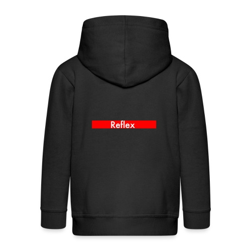 Reflex Logo - Kids' Premium Zip Hoodie