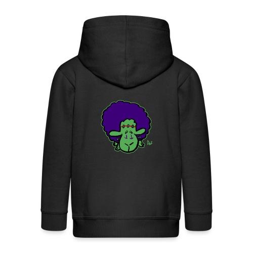 Frankensheep's Monster - Rozpinana bluza dziecięca z kapturem Premium