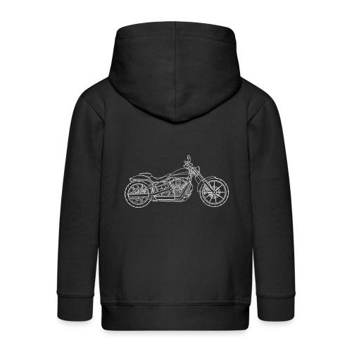 Moto Breakout - Veste à capuche Premium Enfant