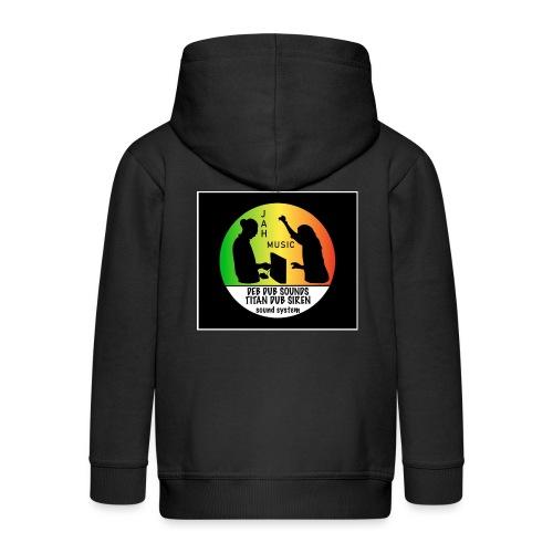 Deb Dub & Titan Dub Siren - Kids' Premium Hooded Jacket