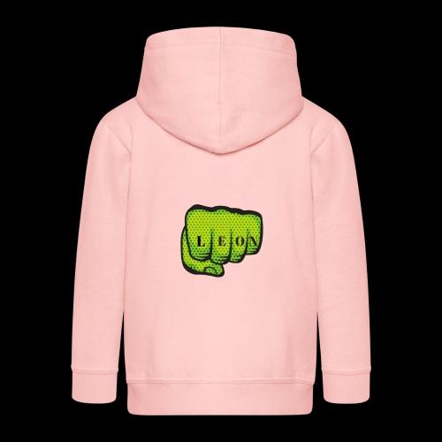 Leon Fist Merchandise - Kids' Premium Zip Hoodie