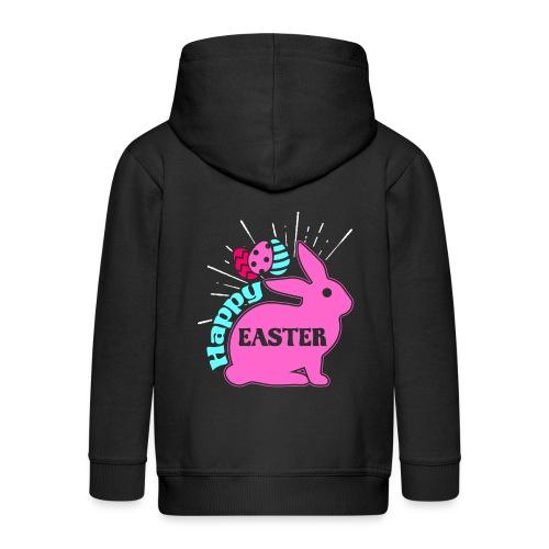 Happy Easter - Frohe Ostern - Kinder Premium Kapuzenjacke