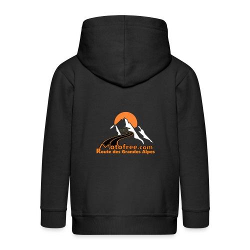 logo motofree orange - Veste à capuche Premium Enfant
