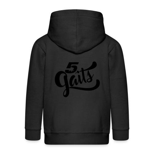 5Gaits 1 - Kids' Premium Zip Hoodie
