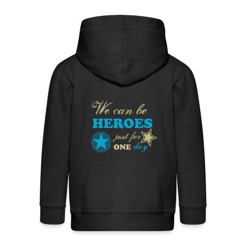 heroes - Veste à capuche Premium Enfant