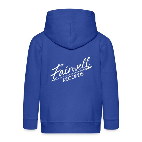 Fairwell Records - White Collection - Premium hættejakke til børn