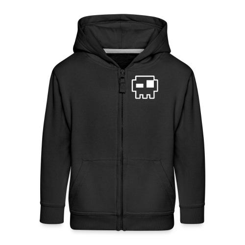 hzv logo trans - Kids' Premium Zip Hoodie