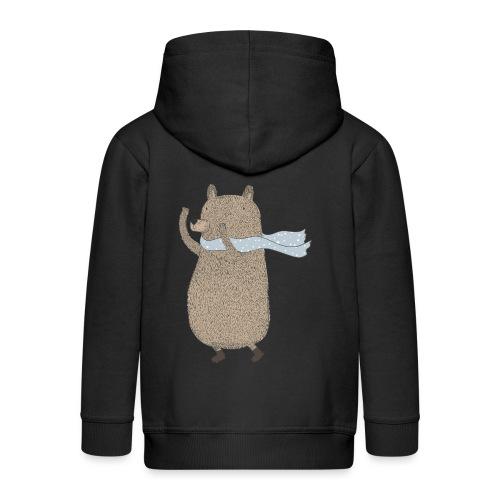 Fluffy Cuddle Bear by #OneCreativeArts - Kinder Premium Kapuzenjacke