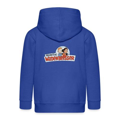 Teenager Premium Langarmshirt Logo - Kinder Premium Kapuzenjacke