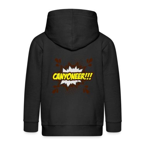 Canyoneer!!! - Kinder Premium Kapuzenjacke