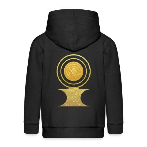 Native America Indianer Symbol Hopi ssl Sonne - Kinder Premium Kapuzenjacke