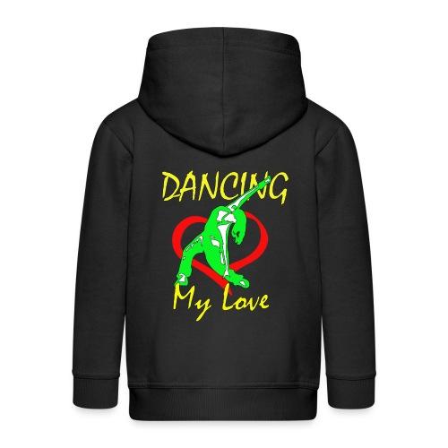 Dancing my Love - Kinder Premium Kapuzenjacke
