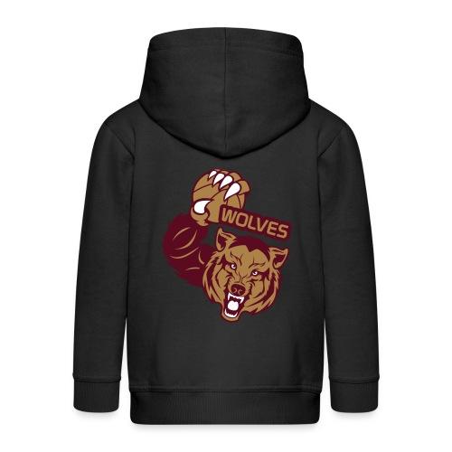 Wolves Basketball - Veste à capuche Premium Enfant