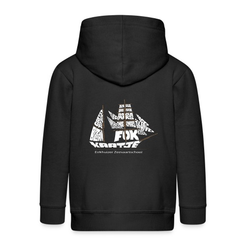 EZS T shirt 2013 Back - Kinderen Premium jas met capuchon