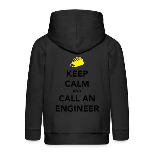 Keep Calm Engineer - Kids' Premium Hooded Jacket