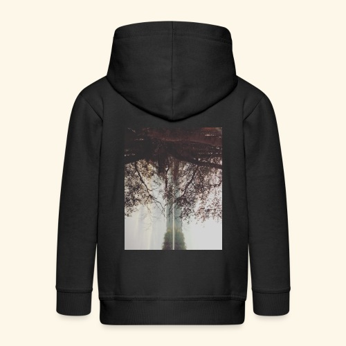 Natura - Rozpinana bluza dziecięca z kapturem Premium
