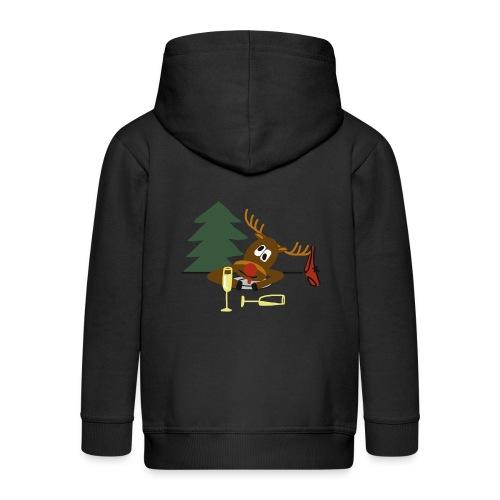 Ugly Christmas Sweater - Kinderen Premium jas met capuchon