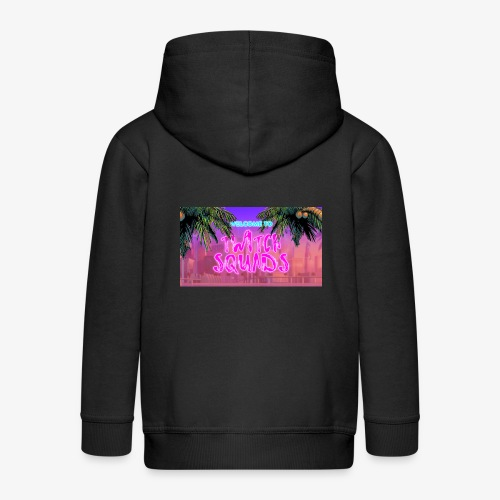 Welcome To Twitch Squads - Kids' Premium Zip Hoodie