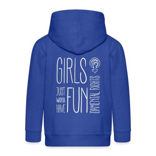 Girls just wanna have fundamental rights - Kinder Premium Kapuzenjacke