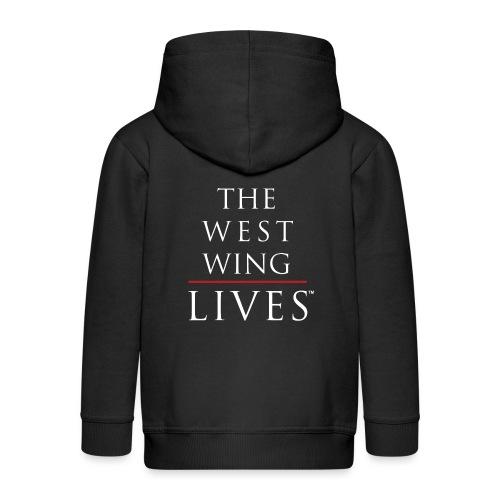 The West Wing Lives - Kids' Premium Zip Hoodie