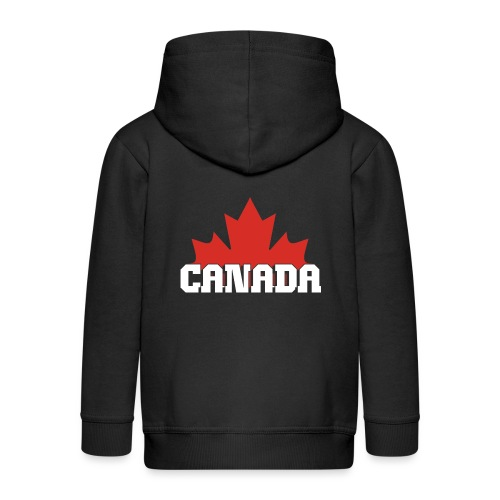 Canada Maple Leaf - Kids' Premium Zip Hoodie