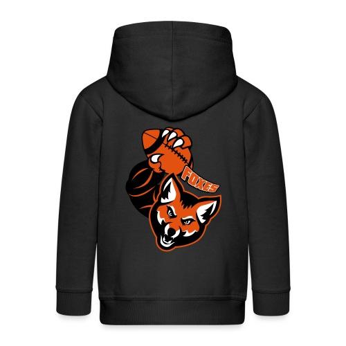 Foxes Rugby - Veste à capuche Premium Enfant