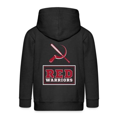 Red Warriors Logo2 - Veste à capuche Premium Enfant
