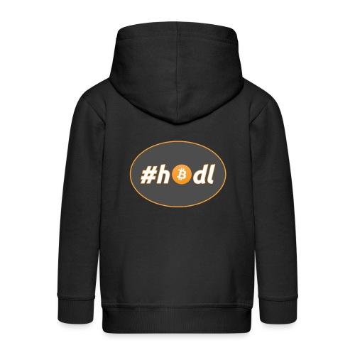 #hodl - option 1 - Kids' Premium Zip Hoodie