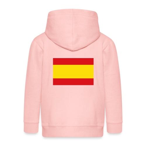 vlag van spanje - Kinderen Premium jas met capuchon