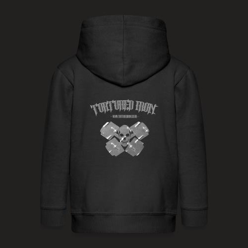 skull - Kids' Premium Zip Hoodie
