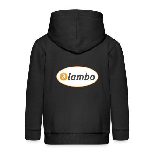 Lambo - option 1 - Kids' Premium Zip Hoodie