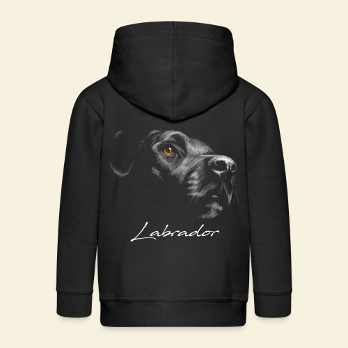 Labrador - Kinder Premium Kapuzenjacke
