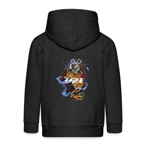 Tiger&DragonUzi - Veste à capuche Premium Enfant