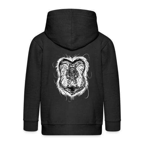 Horned Metalhead - Kids' Premium Hooded Jacket
