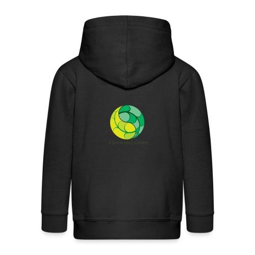 Cinewood Green - Kids' Premium Zip Hoodie