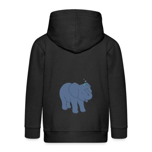 Little elephant - Kinder Premium Kapuzenjacke
