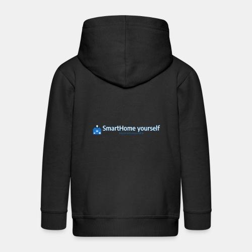 SmarthomeYourself Logo - Kinder Premium Kapuzenjacke