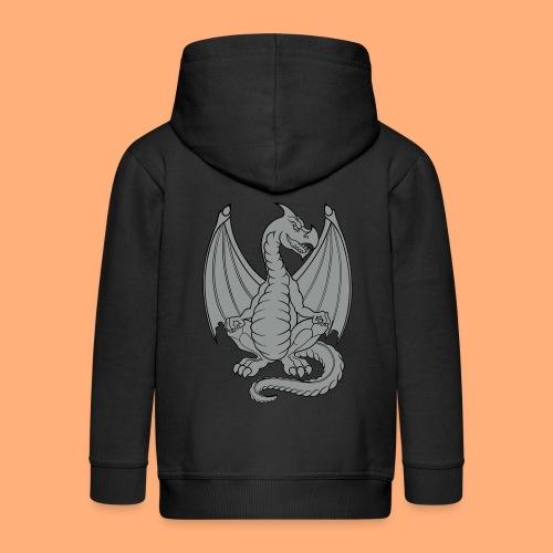 dragon - Veste à capuche Premium Enfant