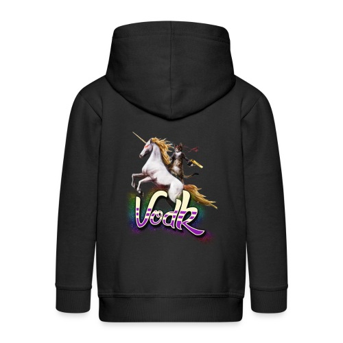 VodK licorne png - Veste à capuche Premium Enfant
