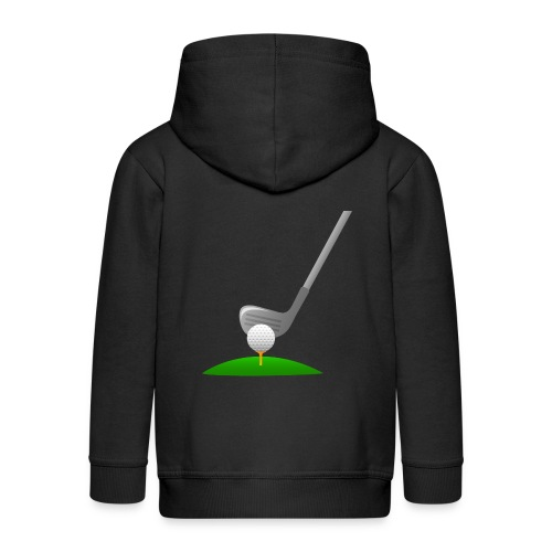 Golf Ball PNG - Chaqueta con capucha premium niño