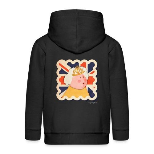 The Queen - Kids' Premium Hooded Jacket