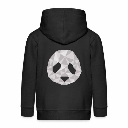 panda géométrique - Veste à capuche Premium Enfant