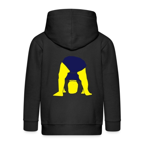 baby cabeca - Kids' Premium Hooded Jacket
