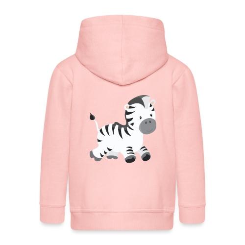 Zebra - Kinder Premium Kapuzenjacke